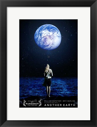 Framed Another Earth Print