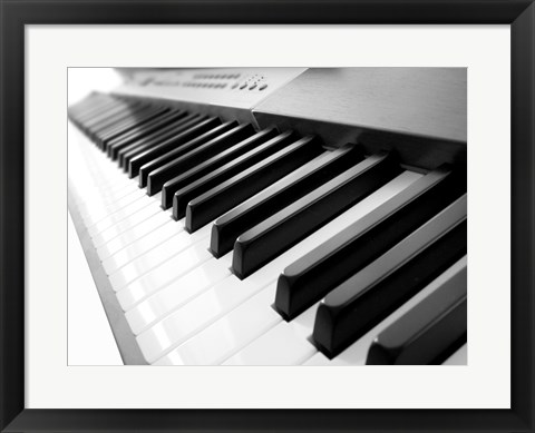 Yamaha p120 close up of piano keys photograph by unknown for Yamaha p120 price