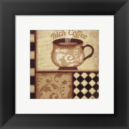Framed Rich Coffee Print