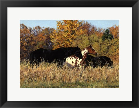 Framed Autumn Beauties Print
