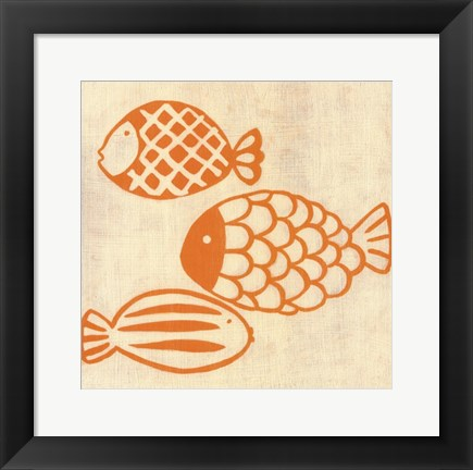 Framed Best Friends- Fish Print