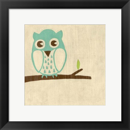 Framed Best Friends- Owl Print
