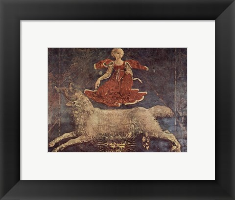Framed Francesco del Cossa Aries Print