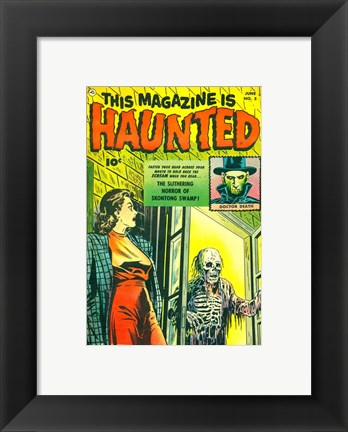 Framed Haunted Print