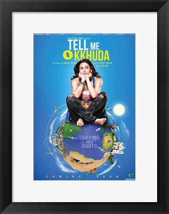 Framed Tell Me O Kkhuda Print