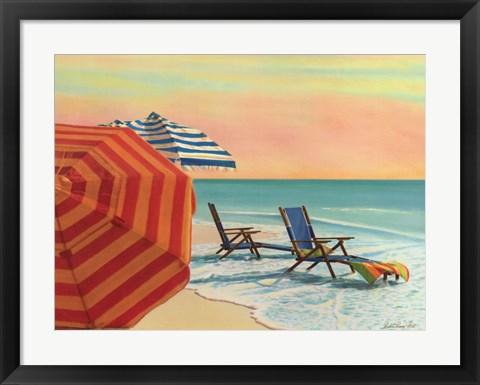 Framed Sit, Stay & Relax Print