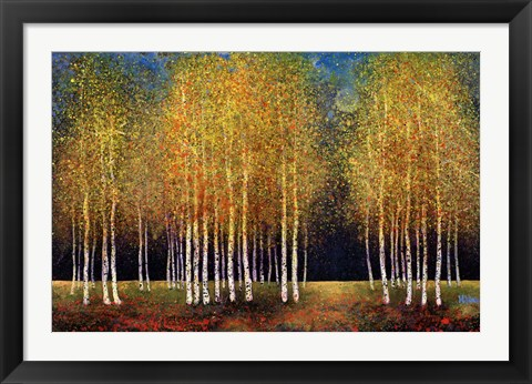 Framed Golden Grove Print