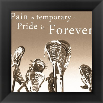 Framed Pride is Forever Print