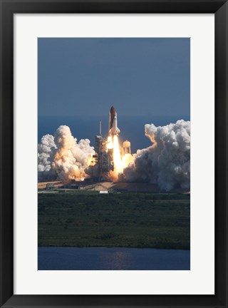 Framed Atlantis Launch Print