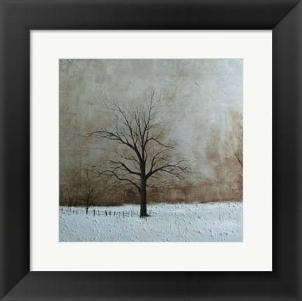 Framed Tree Landscape Print