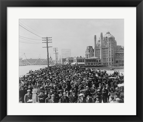 Framed Atlantic City Beauty Pageant Print