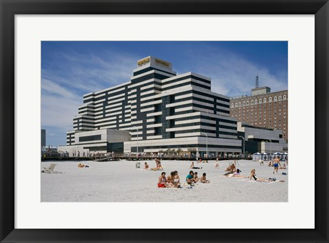 Framed Tropicana Casino and Resort Atlantic City New Jersey USA Print