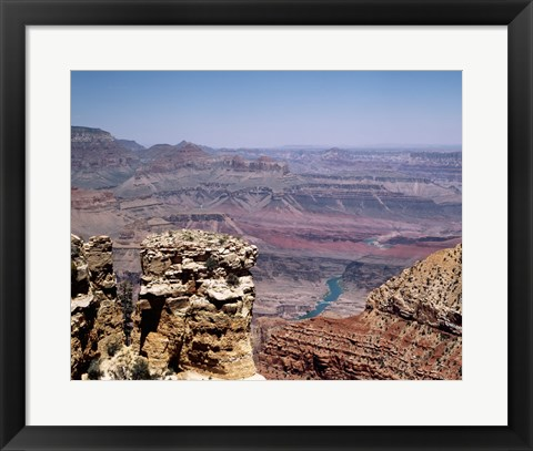 Framed Grand Canyon river view, Arizona Print