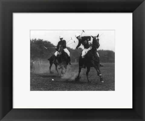 Framed This was the first match of the War Dept. Polo Association Tournament Print