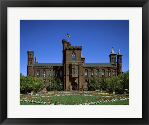 Framed Smithsonian Institution Building, Washington D.C., USA Print