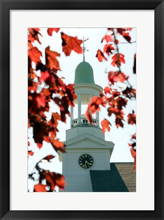 Framed High section view of a church, Cape Cod, Massachusetts, USA Print