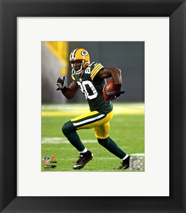 Framed Donald Driver 2011 Action Print