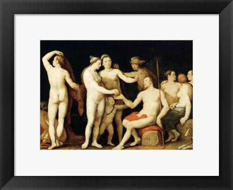 Framed Judgment of Paris Aphrodite Print