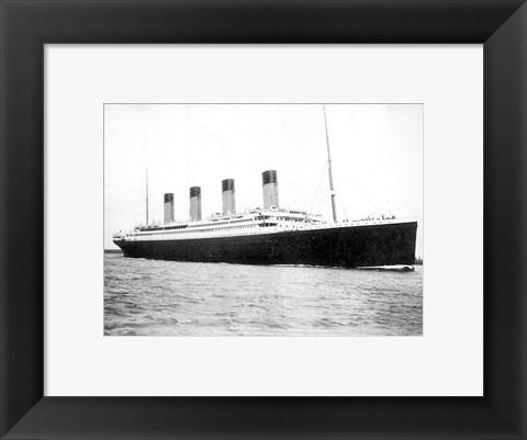 Titanic B Amp W Photograph By Unknown At Framedart Com