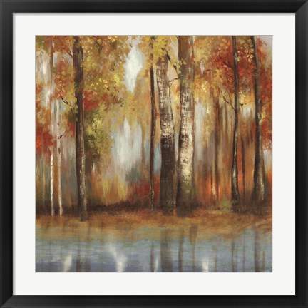 Framed Indian Summer I Print