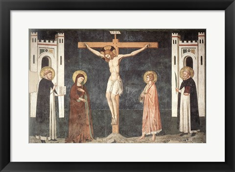 Framed Crucifixion Print