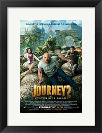 Framed Journey 2: The Mysterious Island Print