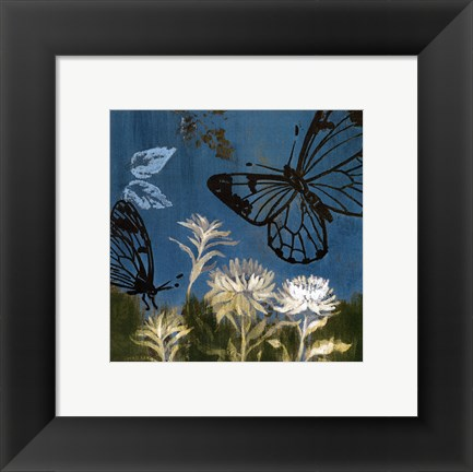 Framed Blue Day In May II Print
