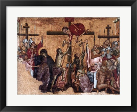 Framed Christ Crucified Print