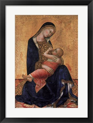 Framed Madonna and Child Print
