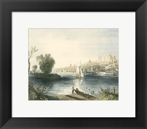 Framed Albany, New York Print
