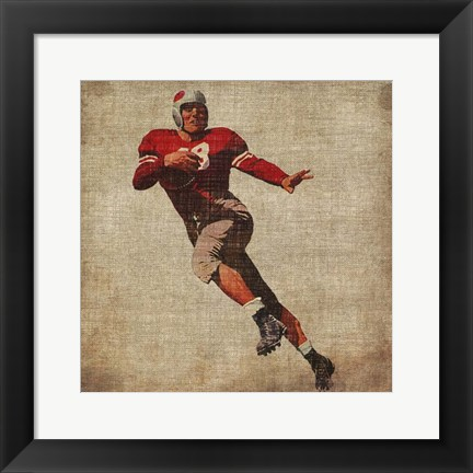 Framed Vintage Sports IV Print