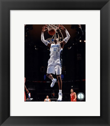 Framed Dwight Howard 2011-12 Action Print