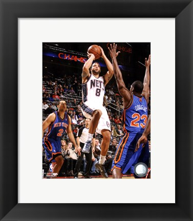 Framed Deron Williams 2011-12 Action Print