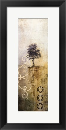 Framed Silent Tree II Print