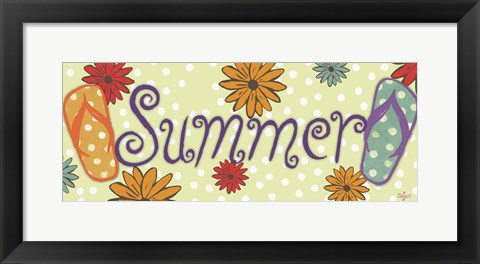 Framed Summer Print