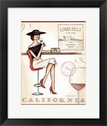 Framed Wine Event II Print