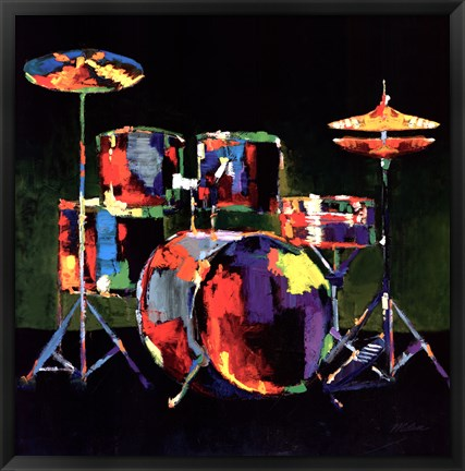 Framed Drum Set - ovsz Print