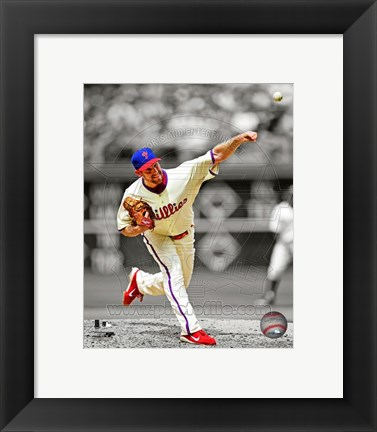 Framed Cliff Lee 2012 Spotlight Action Print
