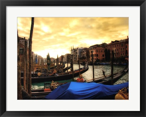 Framed Venice in Light II Print
