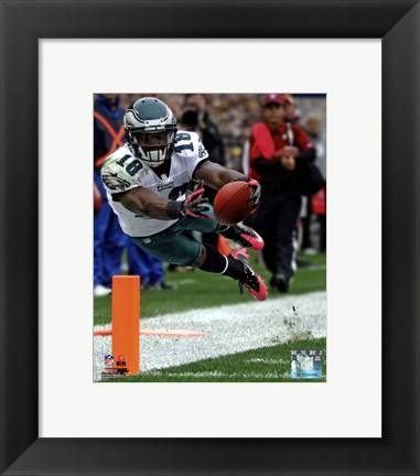 Framed Jeremy Maclin 2012 Action Print