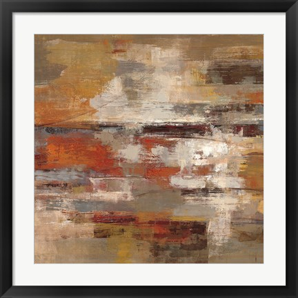 Framed Painted Desert Crop Print