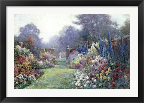 Framed Summer Garden Print