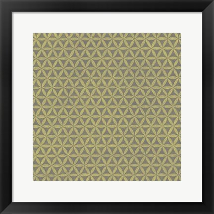 Framed Graphic Pattern I Print