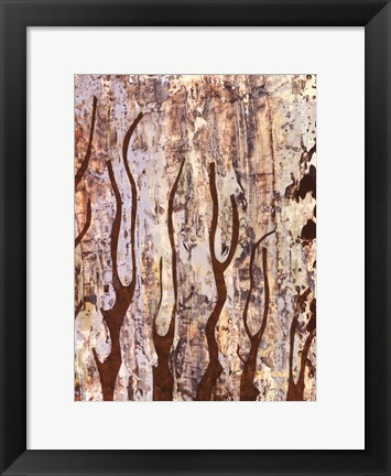 Framed Butterfly Tree II Print