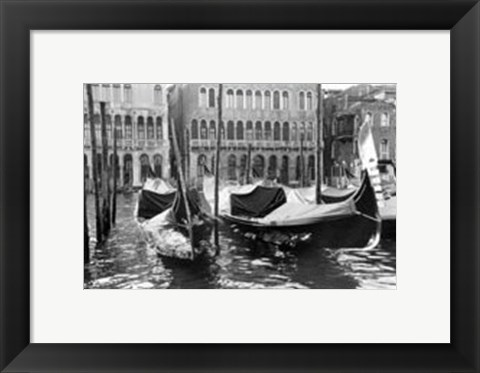 Framed Waterways of Venice XIV Print