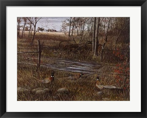 Framed Backroad Gathering Print