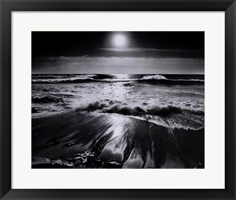 Framed Sun and Surf Print