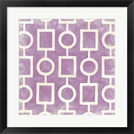Framed Modern Symmetry IV Print