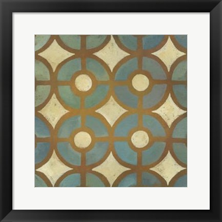 Framed Rustic Symmetry III Print