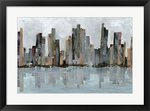 Framed Second City II Print